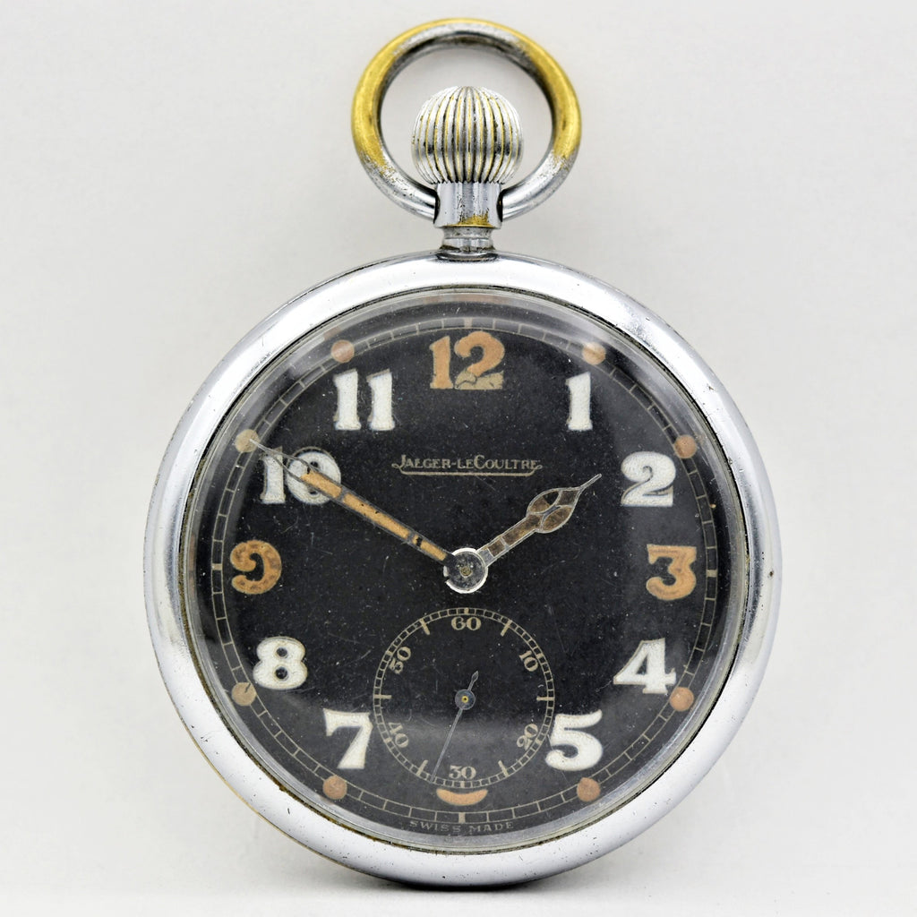 JAEGER LE COULTRE BRITISH NAVIGATORS Military Pocket Watch Pocket Watches - Ashton-Blakey Vintage Watches