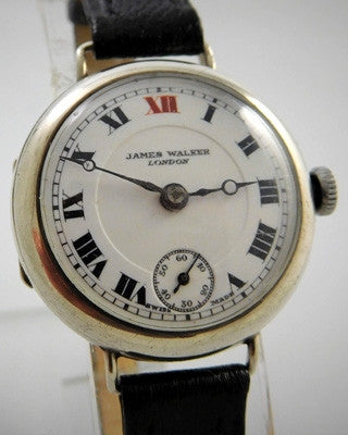 LADY'S ENGLISH STERLING Vintage Watch Wrist Watches - Ashton-Blakey Vintage Watches