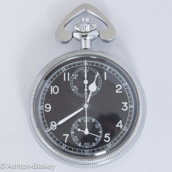 BREITLING US MILITARY NAVIGATION CHRONOGRAPH Pocket Watches - Ashton-Blakey Vintage Watches