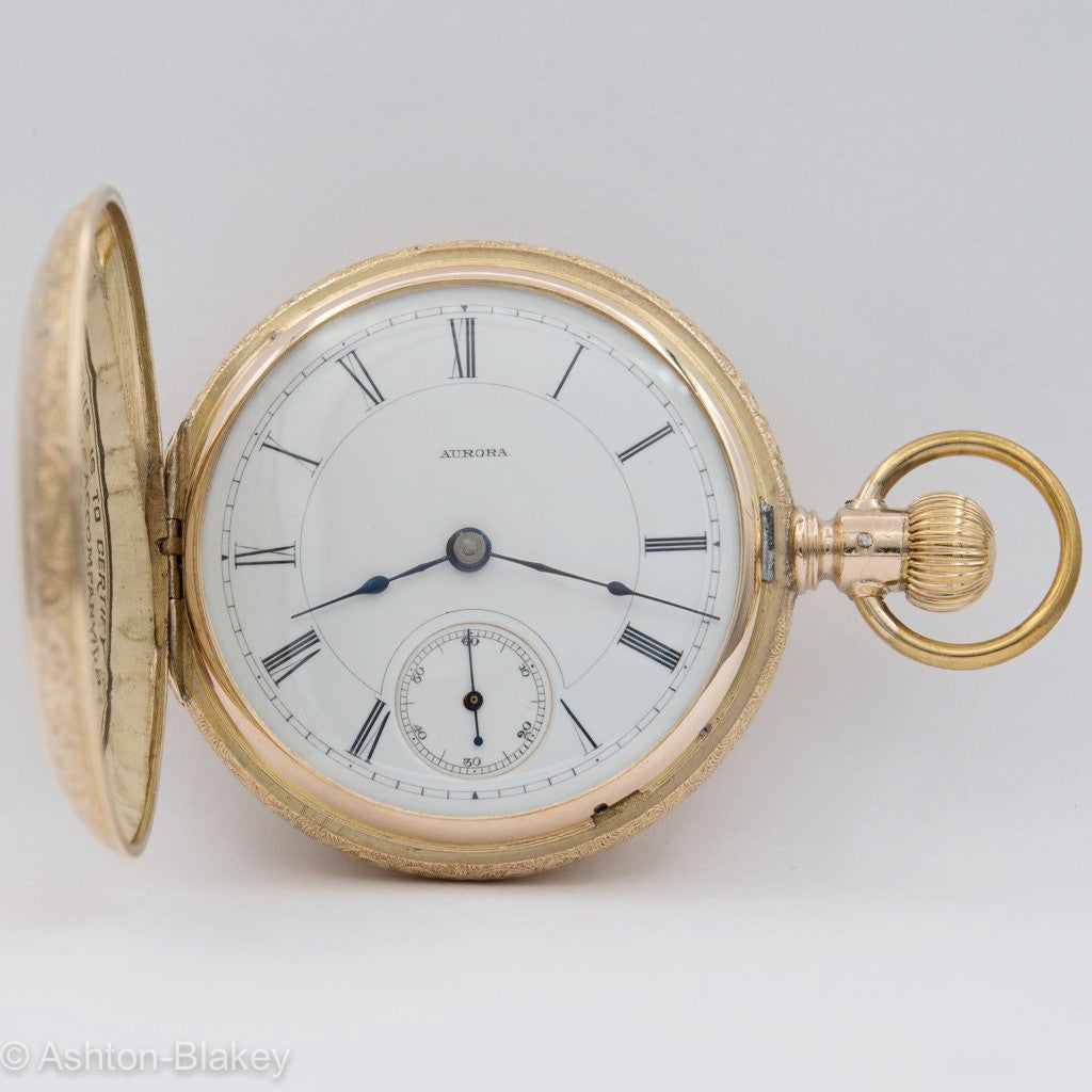 AURORA POCKET WATCH Pocket Watches - Ashton-Blakey Vintage Watches