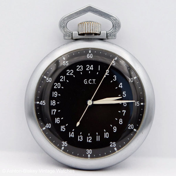 ELGIN GCT Military Sold Out Pocket Watches - Ashton-Blakey Vintage Watches