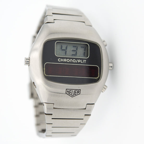 HEUER Chronosplit LCD/LED Vintage Watches - Ashton-Blakey Vintage Watches