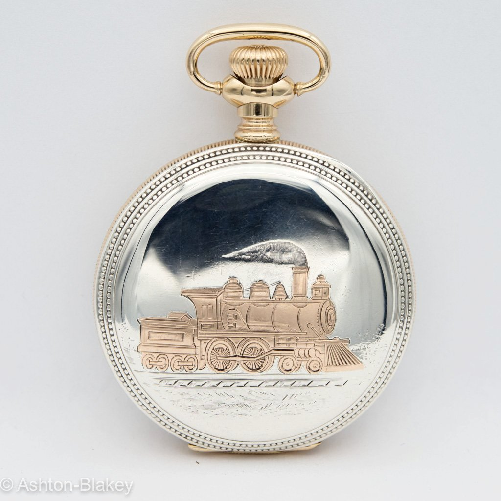 ILLINOIS Sterling silver Pocket Watches - Ashton-Blakey Vintage Watches