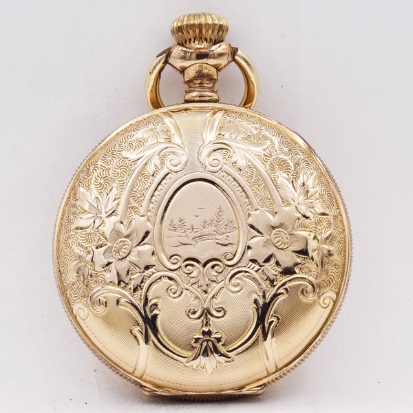 NEW YORK STANDARD POCKET WATCH Pocket Watches - Ashton-Blakey Vintage Watches