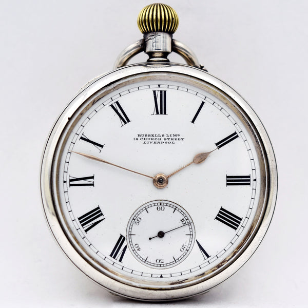Rotherham's Sterling  Pocket Watch