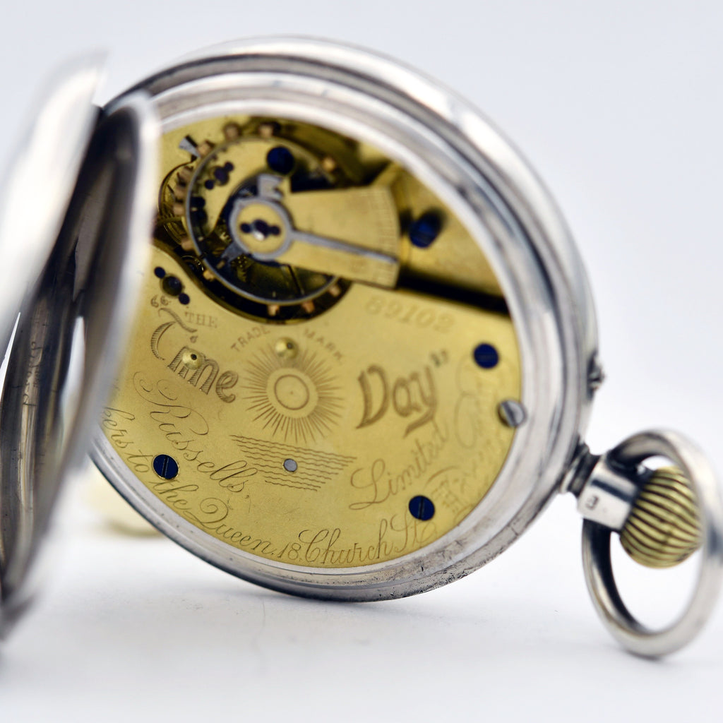 ROTHERHAM'S  Sterling  Pocket Watch Pocket Watches - Ashton-Blakey Vintage Watches