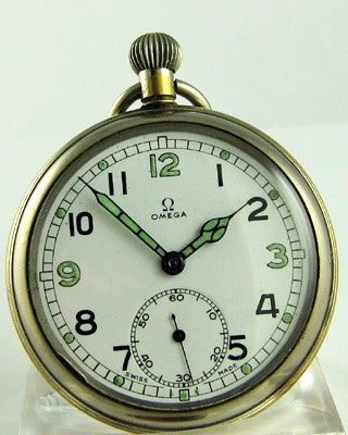 OMEGA MILITARY Pocket Watch Pocket Watches - Ashton-Blakey Vintage Watches