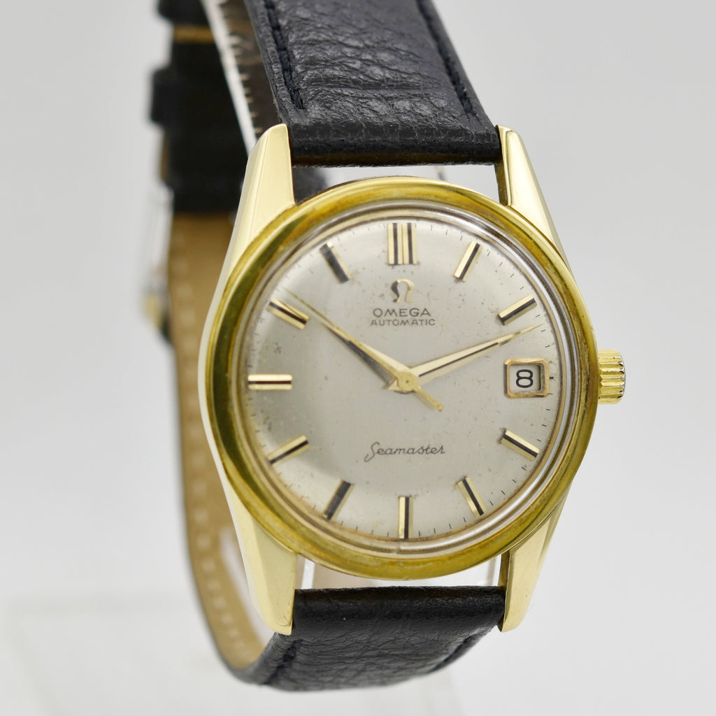 OMEGA 18K Seamaster Vintage Watches - Ashton-Blakey Vintage Watches