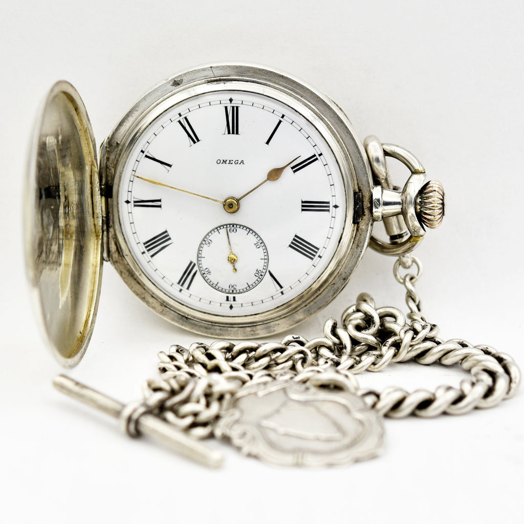 OMEGA Pocket Watch & Chain Pocket Watches - Ashton-Blakey Vintage Watches