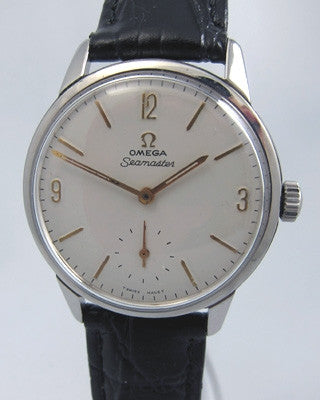 OMEGA SEAMASTER Stainless steel Vintage Watch Vintage Watches - Ashton-Blakey Vintage Watches