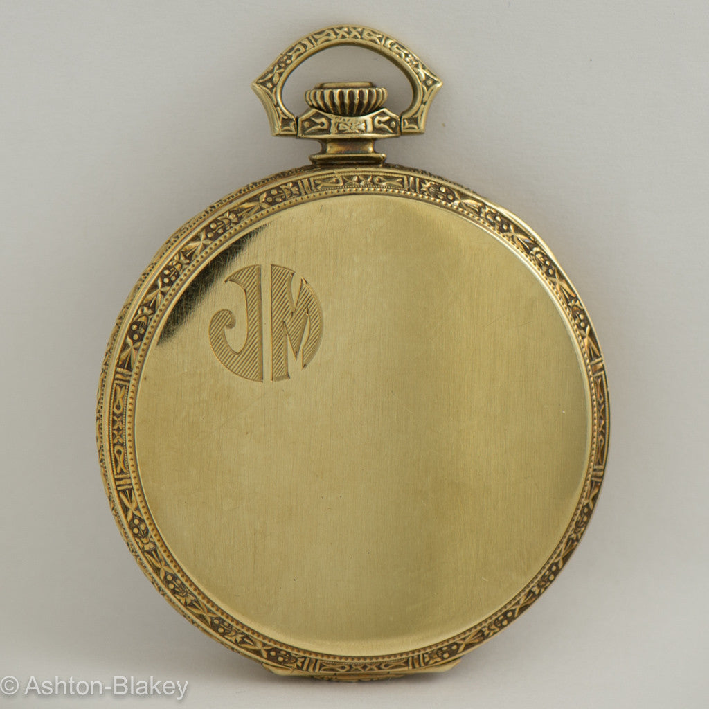 HAMILTON 14K gold Pocket Watch