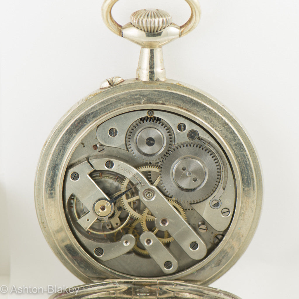 SWISS Swiss GOLIATH  Pocket Watch Pocket Watches - Ashton-Blakey Vintage Watches
