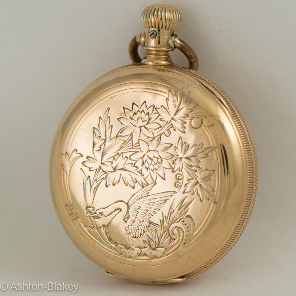 WALTHAM Lady's 14K gold Pocket Watch Pocket Watches - Ashton-Blakey Vintage Watches