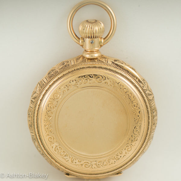 ELGIN 14K Gold Pocket Watch Vintage Watch Pocket Watches - Ashton-Blakey Vintage Watches