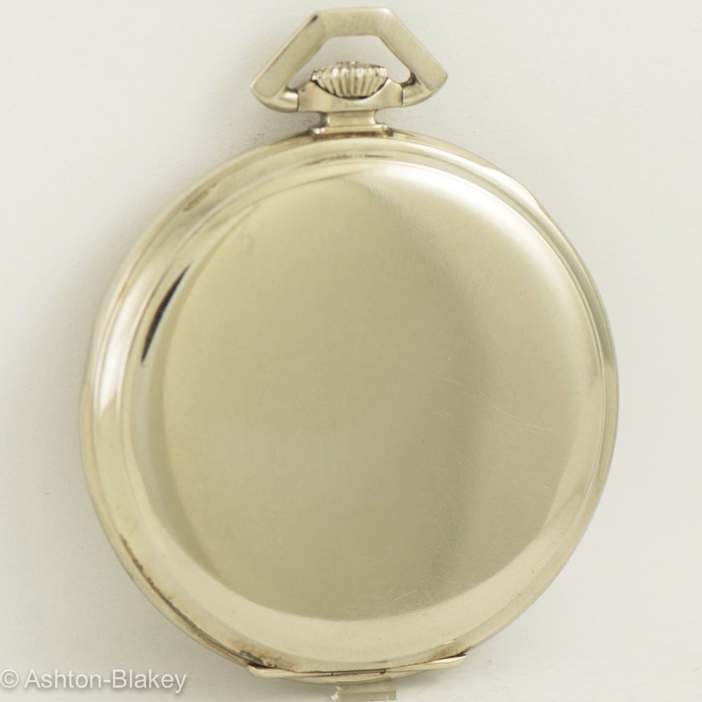 HAMILTON 14K Gold Pocket Watch Vintage Watch Pocket Watches - Ashton-Blakey Vintage Watches