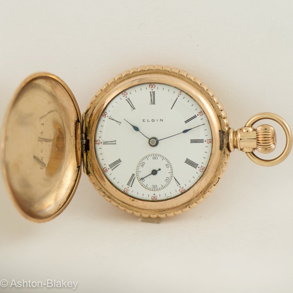 ELGIN Vintage  Lady's Pocket Watch Pocket Watches - Ashton-Blakey Vintage Watches