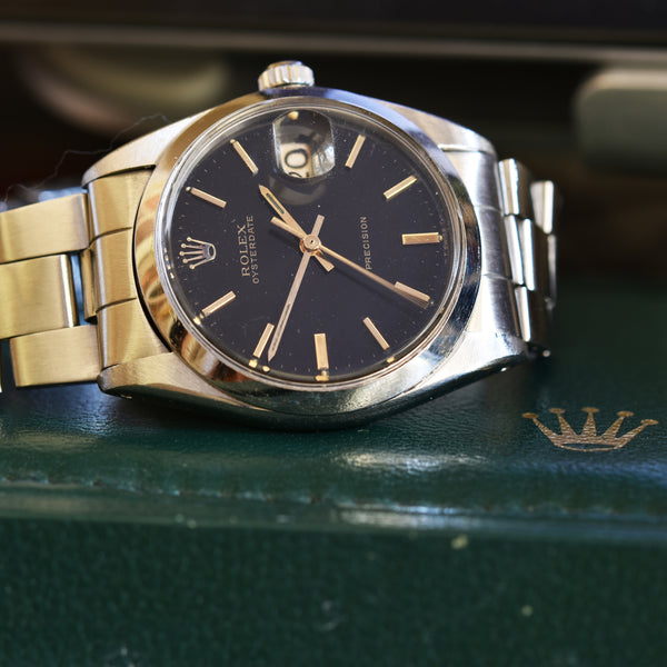 ROLEX Oysterdate Precision Vintage Watches - Ashton-Blakey Vintage Watches