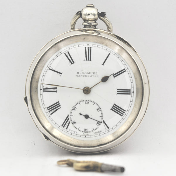 ENGLISH Silver Pocket Watch