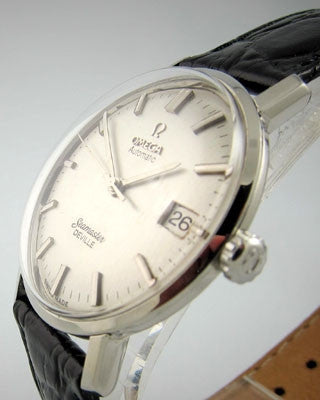 OMEGA SEAMASTER AUTOMATIC DE VILLE WITH DATE- Vintage watch Vintage Watches - Ashton-Blakey Vintage Watches