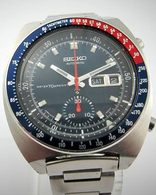 SEIKO AUTOMATIC CHRONOGRAPH Vintage Watch Vintage Watches - Ashton-Blakey Vintage Watches