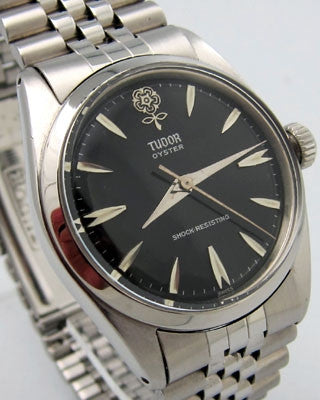 TUDOR by ROLEX OYSTER – Stainless steel beautiful man's wrist watch Wrist Watches - Ashton-Blakey Vintage Watches