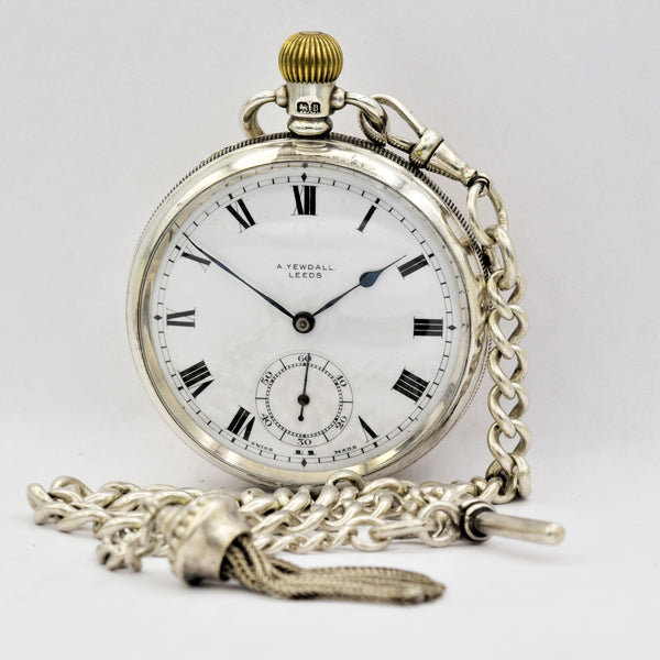 ENGLISH Pocket Watch with Chain Pocket Watches - Ashton-Blakey Vintage Watches