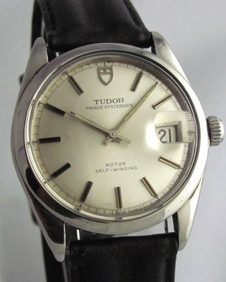 TUDOR PRINCE OYSTERDATE - Quick Set, Stainless Steel- Vintage Watch Vintage Watches - Ashton-Blakey Vintage Watches