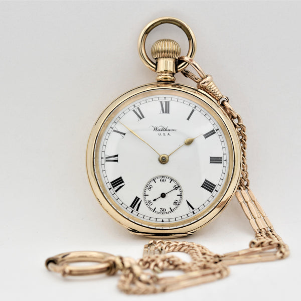 WALTHAM Man's Pocket Watch Pocket Watches - Ashton-Blakey Vintage Watches