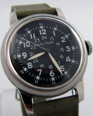 WALTHAM Military Vintage watch Vintage Watches - Ashton-Blakey Vintage Watches