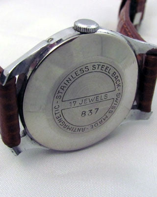 WELSBRO Swiss Triple Date Calendar Watch Vintage Watch