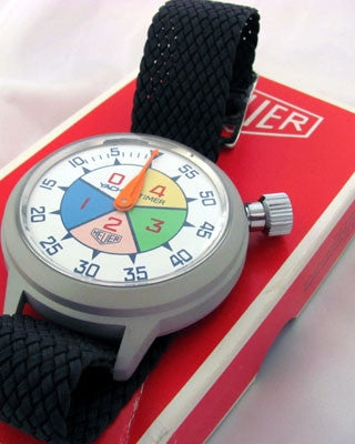 HEUER YACHT TIMER Swiss Vintage watch Vintage Watches - Ashton-Blakey Vintage Watches