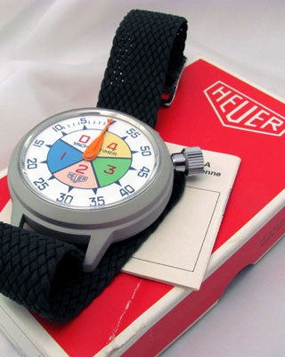 HEUER YACHT TIMER Swiss Vintage watch Wrist Watches - Ashton-Blakey Vintage Watches