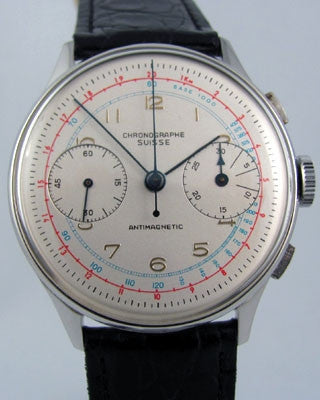 SWISS CHRONOGRAPH Vintage Watch Vintage Watches - Ashton-Blakey Vintage Watches