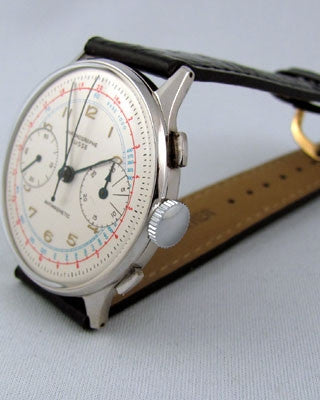 SWISS CHRONOGRAPH Vintage Watch Wrist Watches - Ashton-Blakey Vintage Watches