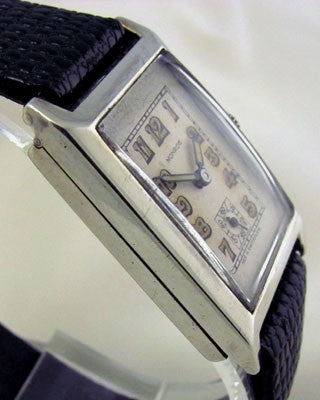 SWISS Sterling Silver Vintage Watch Vintage Watches - Ashton-Blakey Vintage Watches