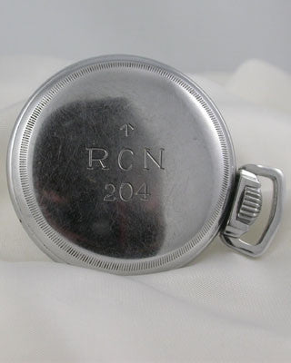 ELGIN MILITARY POCKET WATCH FOR ROYAL CANADIAN NAVY Pocket Watches - Ashton-Blakey Vintage Watches