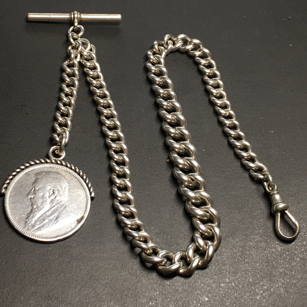 ENGLISH Sterling Pocket Watch Chain                        CH99