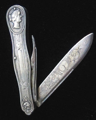 Victorian silver fruit knife Jewelry - Ashton-Blakey Vintage Watches