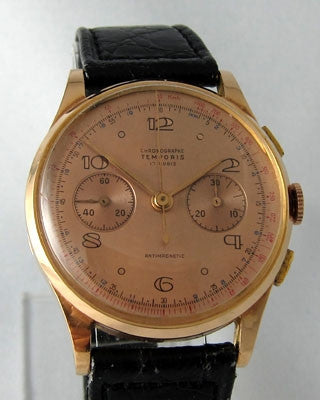TEMPORIS- CHRON0GRAPHE SWUISSE Vintage Watch