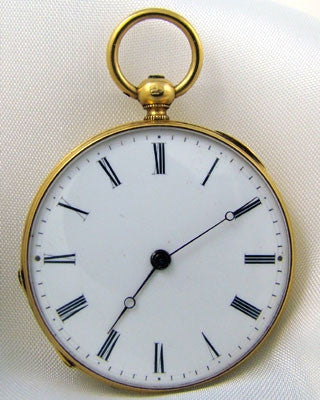 SWISS 18K Pocket Watch Pocket Watches - Ashton-Blakey Vintage Watches