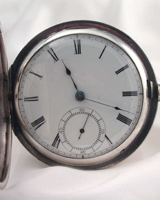 "WALTHAM Waltham ""Broadway"" Silver Vintage Pocket Watch Pocket Watches - Ashton-Blakey Vintage Watches"