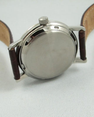 OMEGA STAINLESS STEEL Vintage Watch Wrist Watches - Ashton-Blakey Vintage Watches