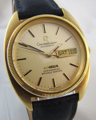 OMEGA CONSTELLATION DAY DATE Vintage Watch Wrist Watches - Ashton-Blakey Vintage Watches