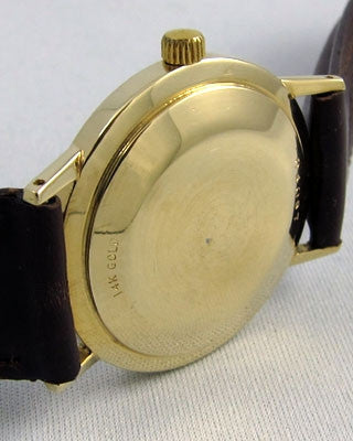 UNIVERSAL 14K Gold Vintage Watch Wrist Watches - Ashton-Blakey Vintage Watches