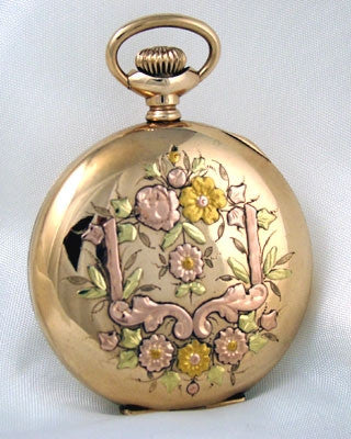 WALTHAM  Lady's Multi Color Vintage Pocket Watch Pocket Watches - Ashton-Blakey Vintage Watches