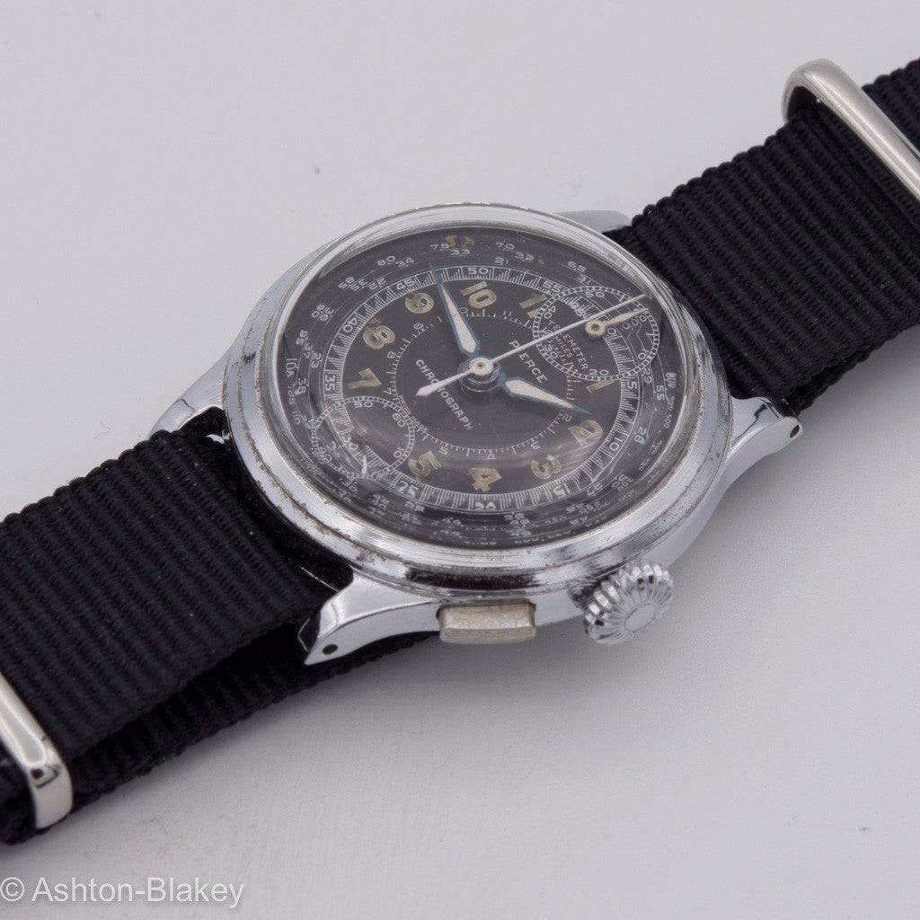PIERCE Chronograph Vintage Watches - Ashton-Blakey Vintage Watches