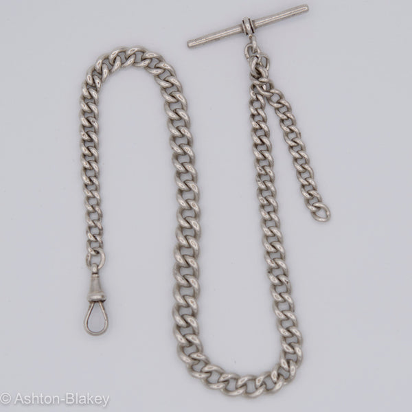 ENGLISH STERLING POCKET WATCH CHAIN