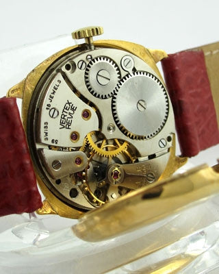VERTEX - 9K GOLD - War time man's Vintage Watch Vintage Watches - Ashton-Blakey Vintage Watches