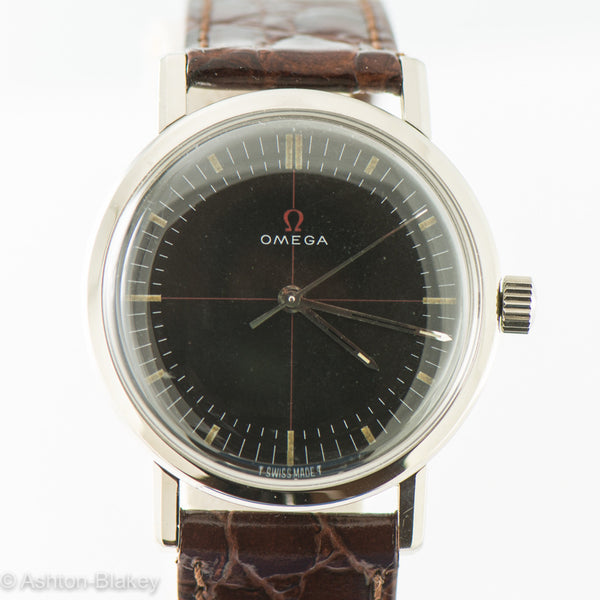OMEGA STAINLESS STEEL Vintage Watch Vintage Watches - Ashton-Blakey Vintage Watches