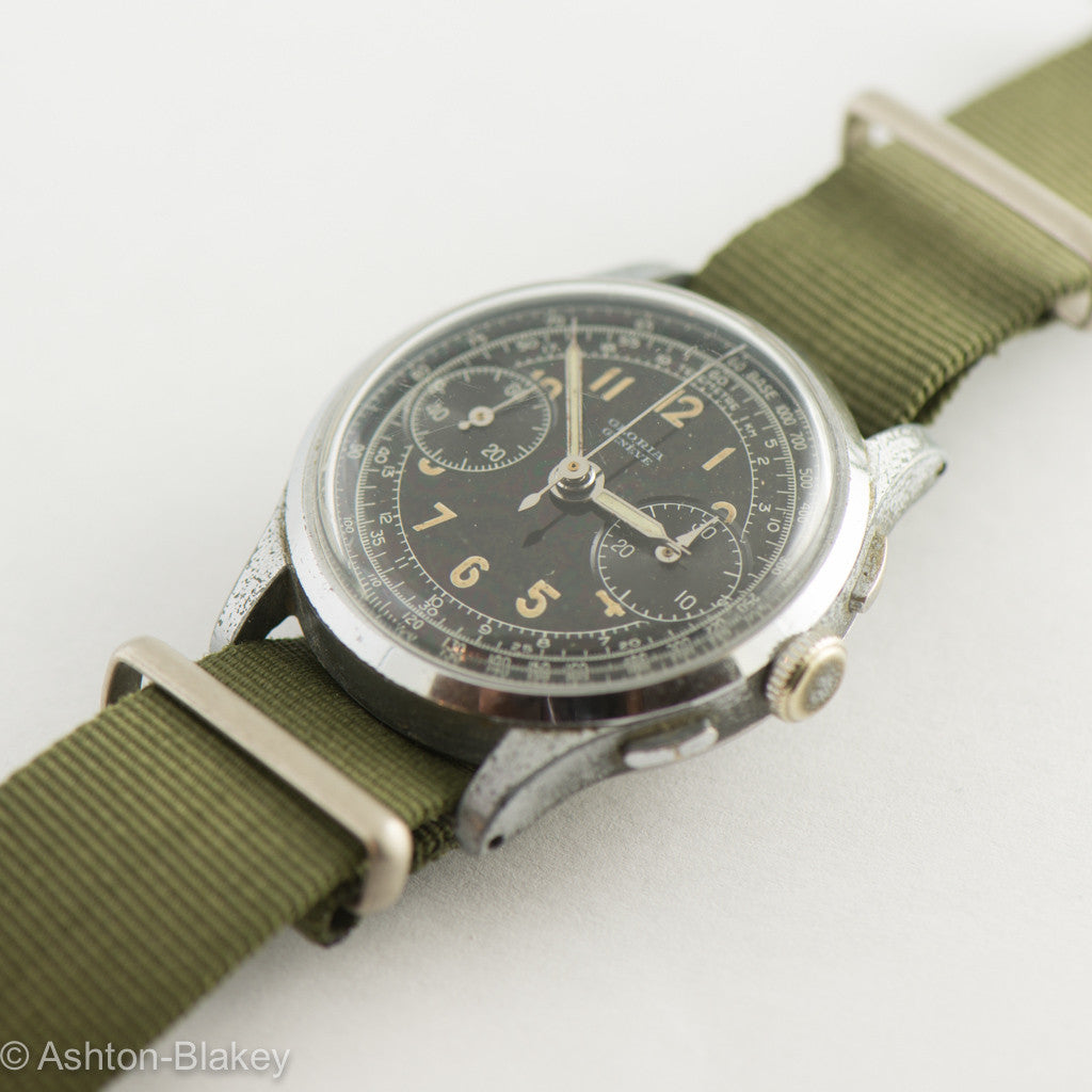 SWISS military style Vintage Watch Vintage Watches - Ashton-Blakey Vintage Watches